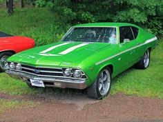 1969 Chevelle Maintenance of old vehicles: the material for new cogs/casters/gears could be cast polyamide which I (Cast polyamide) can produce Chevy Muscle Cars, Best Muscle Cars, American Muscle Cars, Sexy Cars, Hot Cars, 1969 Chevy Chevelle, Gp Moto, Gm Car, Dream Cars