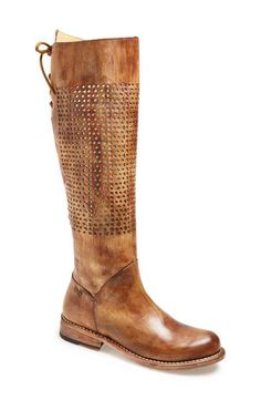 Bed Stu 'Cambridge' Knee High Leather Boot (Women)