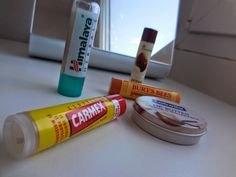 Suffer for makeup: My Favorite Lip Balms #lipbalm #drylips #winter