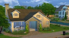 Sweet Cottage Lane 20 by bradybrad7 at Mod The Sims via Sims 4 Updates