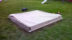 DIY Cover Stops Cats From Treating My Kid's Sandbox Like ALitterbox - CW50 Detroit