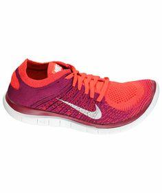 Nike - Damen Lauf- und Freizeitschuh Free Flyknit 4.0 beere #nike #flynit #sneakergirls