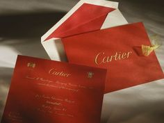 Cartier Christmas Party Invitation