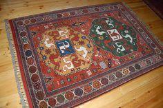 Karabagh Cloudband motif rug