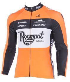 Team Roompot Orange  cycling  jersey long sleeves ff72ba1d6