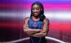 Olympic Swimming, Olympic Gymnastics, Simone Biles, Olympics, Bra, Sadie, Athletes, Sports, Appetizers