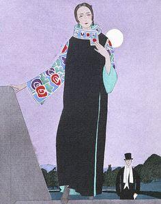 Evening Cloak, 1921, Paul Poiret