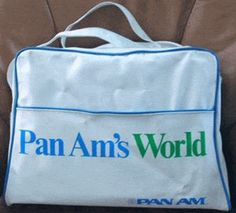 pan am's world vintage flight bag