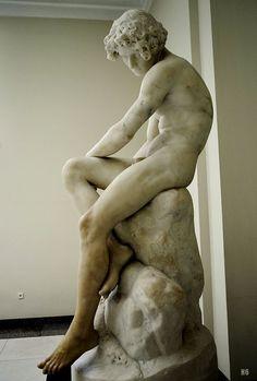 O Desterrado - The Exiled. 1872. Soares dos Reis. Portuguese 1847-1889. marble. http://hadrian6.tumblr.com