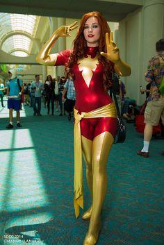 Pheonix (X-men) by Birds of Prey #SDCC Comic Con 2014 Day 1