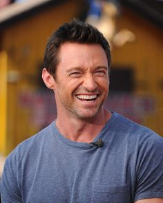 Just a Ton of Sexy Photos of Hugh Jackman Hugh Jackman, Hugh Michael Jackman, Top Hollywood Actors, Hugh Wolverine, Clean Shaven, Australian Actors, The Way He Looks, The Greatest Showman, Celebrity Dads