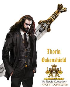 Thorin Oakenshield. The Noble Collection...