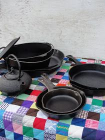 Love my cast iron pans! I've picked up all mine of assorted sizes from yard/garage sales. When I get them home I just reseason them and use them for indoors and outdoors