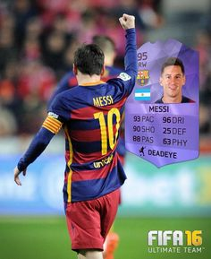 FIFA 16 Purple Hero is available in FUT packs until Feb Details… Football Video Games, Video Games Xbox, Soccer Fifa, Soccer Teams, Fifa 15, Messi And Ronaldo, Uni Life, Purple Cards, Lionel Messi