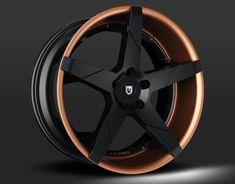 Custom - Black and Copper Finish