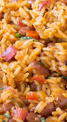 Dirty Red Beans and Rice - Rice Recipes Cajun Recipes, Mexican Food Recipes, Vegetarian Recipes, Cooking Recipes, Healthy Recipes, Hot Sausage Recipes, Cooking Tips, Rice Cooker Recipes, Arabic Recipes