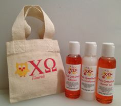 Shower Gel! $10.00  There are 37 different sororities to chose from! Soon to be available at www.jbgreek.com