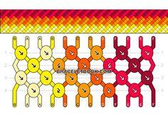 Friendship Bracelet Pattern #15933