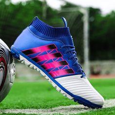 premium selection cdd2d dfb3b Men s Soccer Shoes TF Futsal Hard Court Turf Football Boots Indoor Sock  Cleats Trainer Cheap Botas Chuteira Futsal Shoes Man