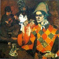 Pablo Picasso (1905) Au Lapin Agile