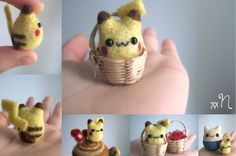 Tiny felted animals that are so cute they'll make your face hurt from smiling