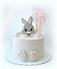 Baby Birthday Cakes, Baby Boy Cakes, Girl Cakes, Baby Shower Cakes, Birthday Cake Decorating, Cake Decorating Tips, Disney Themed Cakes, Easter Bunny Cake, Beautiful Birthday Cakes