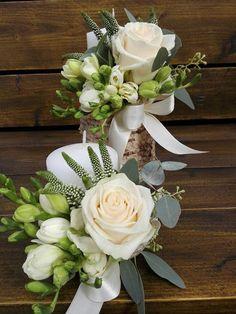 Flowers of Soul: Lumanari de cununie White Wedding Bouquets, Wedding Flowers, Papdi Chaat, Centerpieces, Table Decorations, Flower Fairies, Arte Floral, The Fresh, Marie