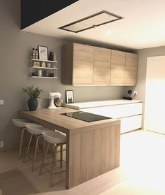 ✨My most liked picture in Home Kitchens, Kitchen Remodel Small, Kitchen Furniture, Home Decor Kitchen, Kitchen Room Design, Kitchen Interior, Interior Design Kitchen, Kitchen Furniture Design, Modern Kitchen Design