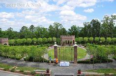 P. Allen Smith's new rose garden at Moss Mountain Farm