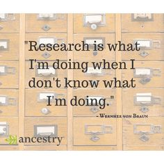 I think we can all relate to this, right?    #familyhistory #genealogy #ancestry #familytree #heritage #quotes #genealogyquotes #roots #research