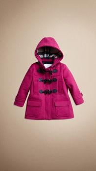 Burberry hooded duffle coat ... For my Audrey