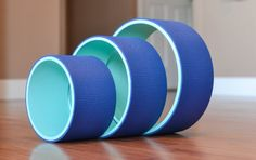 Yoga Wheel Set 8 10 12 Blue by AReedYogaWheelsLLC on Etsy