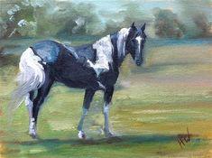 "Daily Paintworks - ""Chief"" - Original Fine Art for Sale - © H.F. Wallen"