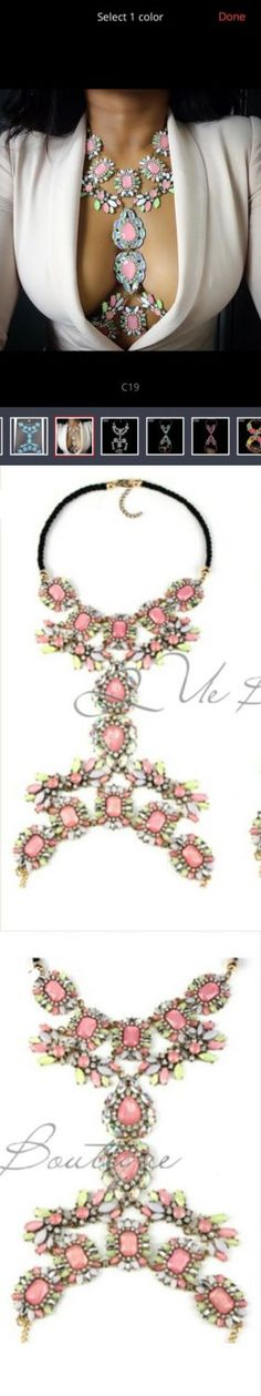 Body Chains 98526: Women Crystal Rhinestone Long Pendant Belly Waist Body Chain Harness Jewelry Us -> BUY IT NOW ONLY: $30 on eBay!