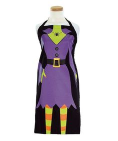 ritz halloween aprons | Ritz Purple Witch Apron---LOVE