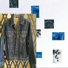Jacket, Levi Strauss & CO. Jacket,  Levi Strauss & CO, , Vintage, distressed,, blue denim, 100% cotton, silver buttons, double front pockets. Great Collectors item Levi's Jackets & Coats Jean Jackets