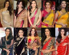 #Bollywood Replica Sarees