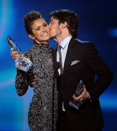 Celeb Diary: Ian Somerhalder @ 2014 People's Choice Awards
