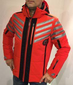 SPORTALM Firn Skijacke Winterjacke Ski Jacke rot red Herren men in Sport, Skisport & Snowboarding, Bekleidung   eBay