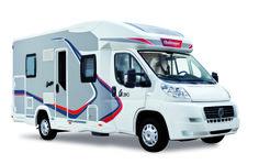 Graphite Edition 290 - Les parois en polyester du camping-car sont teintées gris-taupe. Design exclusif de cette série limitée.