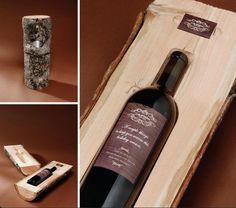 Packaging vino madera Fuente: Buena Publicidad @Buenapublicidad