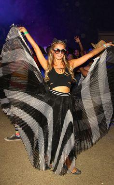 Beyoncé & David Guetta from Stars at Coachella 2015 | E! Online