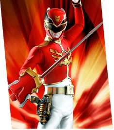 Red Galaxy Ranger | listed as Megaforce Red Ranger)