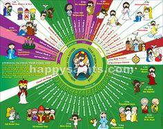 Happy Saints: Happy Saints Liturgical Calendar 2016 ePoster