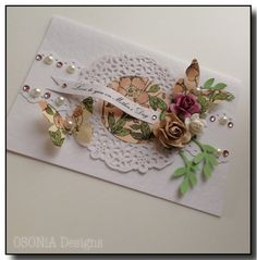Special handmade card for Mother's Day by OSONiA Designs