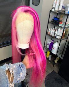 Ron Burgundy, Nikki Bella, Blonder Bob, Pretty Hair Color, Birthday Hair, Pink Wig, Extensions, Hair Laid, Baddie Hairstyles