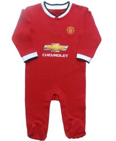 Football manchester united baby clothes on pinterest manchester united baby polo and baby