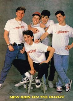 New Kids On The Block, who NKOTB?...You know you miss em!