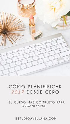 Planifica 2017 con tu agenda personalizada #Ideas #Bonitas