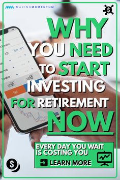 Are you looking to start saving money for retirement? The best time to start is now! Learn why you have to start investing now, the pros and cons of index funds, how to get started and more. Retirement Cards, Retirement Planning, Early Retirement, Retirement Quotes, Retirement Funny, Retirement Savings, Financial Tips, Financial Planning, Bollinger Bands